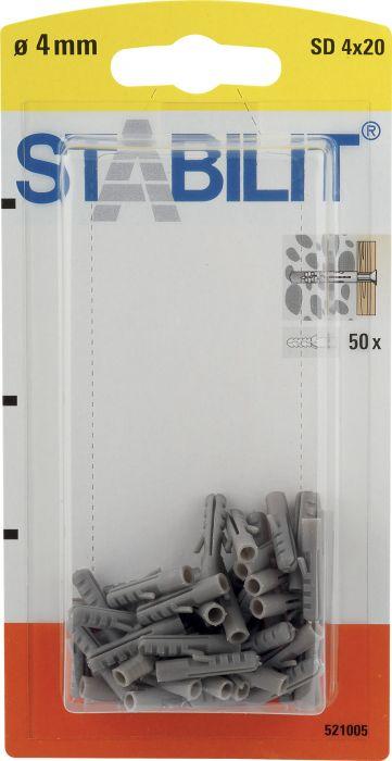 Välitulppa Stabilit 4 x 20 mm