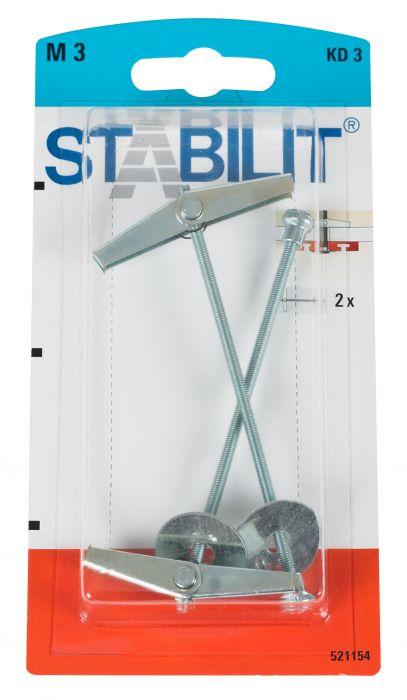 Jousitulppa M 3 Stabilit KD 3 K 95 mm