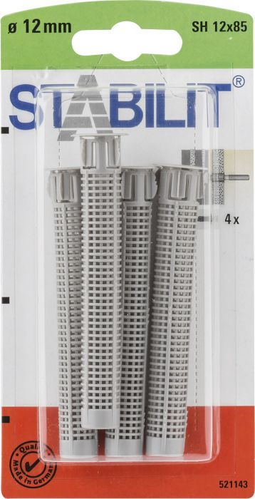 Seulaholkki Stabilit SH 12 x 85 mm 4 kpl/pkt