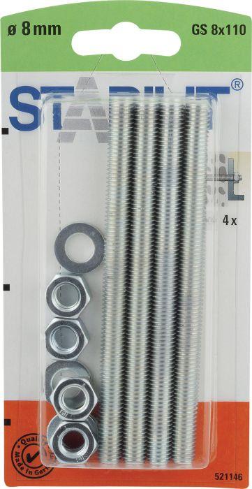 Kierretanko Stabilit GS 8 x 110 mm 4 kpl/pkt
