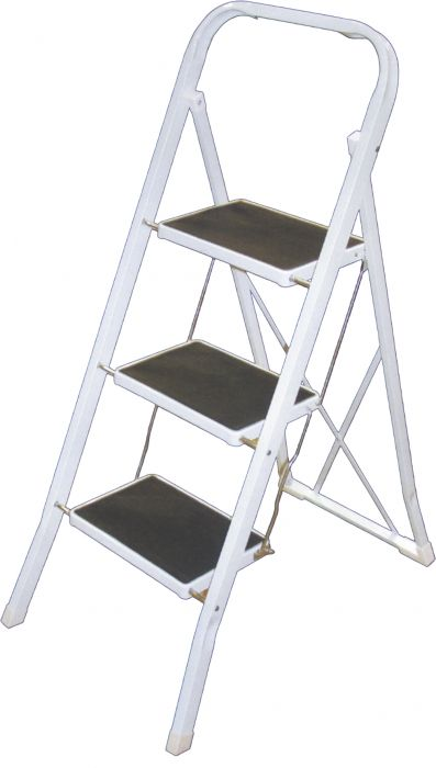 Metallinen apuaskelma 3-askelmaa