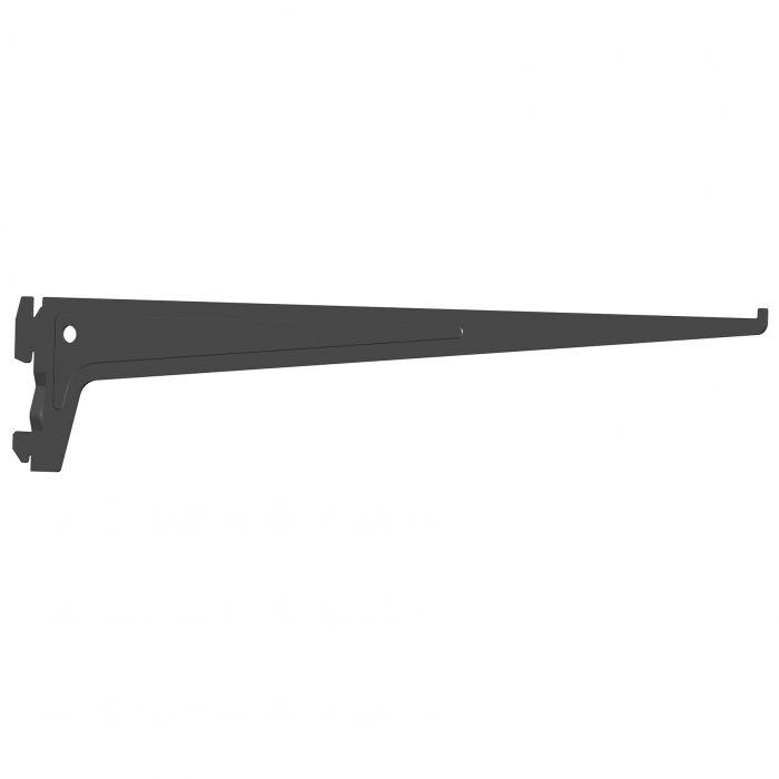 Kannatin V-single S-50 Musta 40 cm