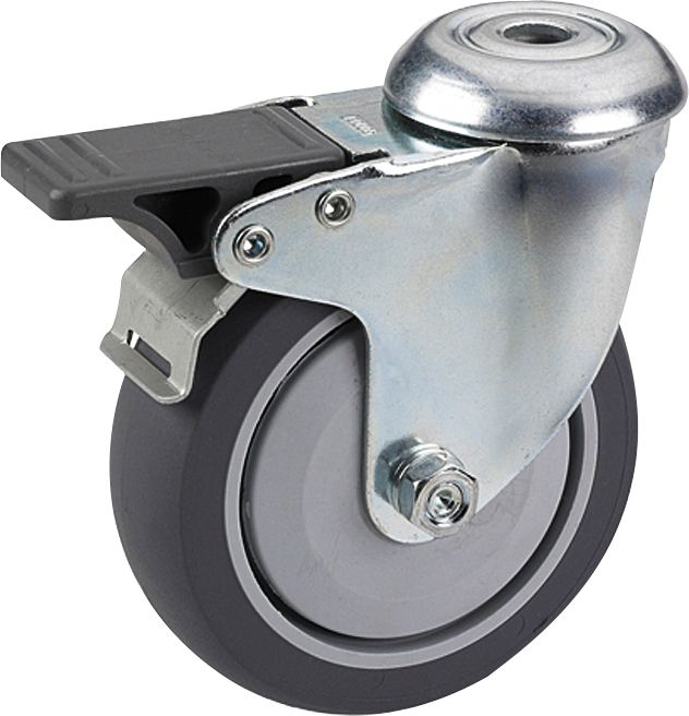 Kalustepyörä Stabilit 50 x 19 mm, 10,2 mm jarru