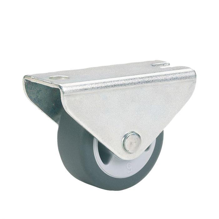 Huonekalupyörä Stabilit 30 x 14 mm, levy 46 x 20 mm