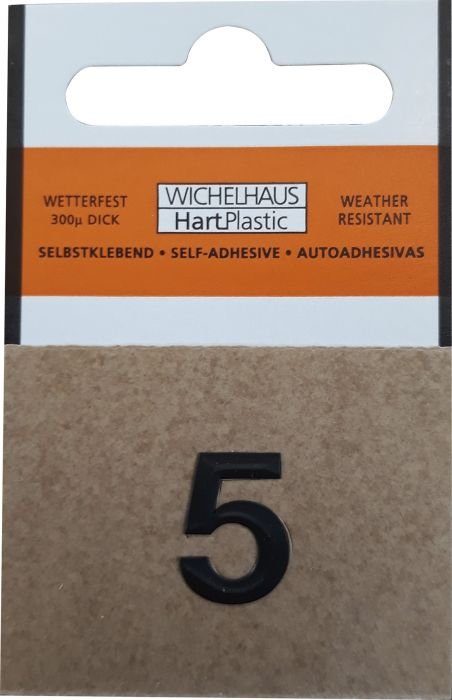 Numero Wichelhaus HartPlastic Musta 15 mm 5