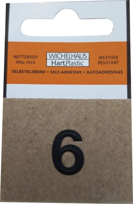 Numero Wichelhaus HartPlastic Musta 15 mm 6