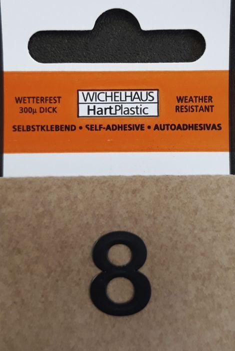Numero Wichelhaus HartPlastic Musta 15 mm 8