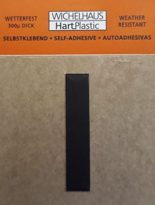 Kirjain Wichelhaus HartPlastic Musta 30 mm I