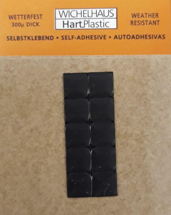 Merkki Wichelhaus HartPlastic Musta 30 mm Piste 10 kpl/pkt