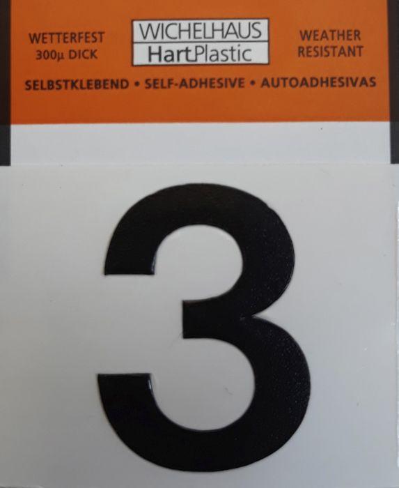 Numero Wichelhaus HartPlastic Musta 30 mm 3