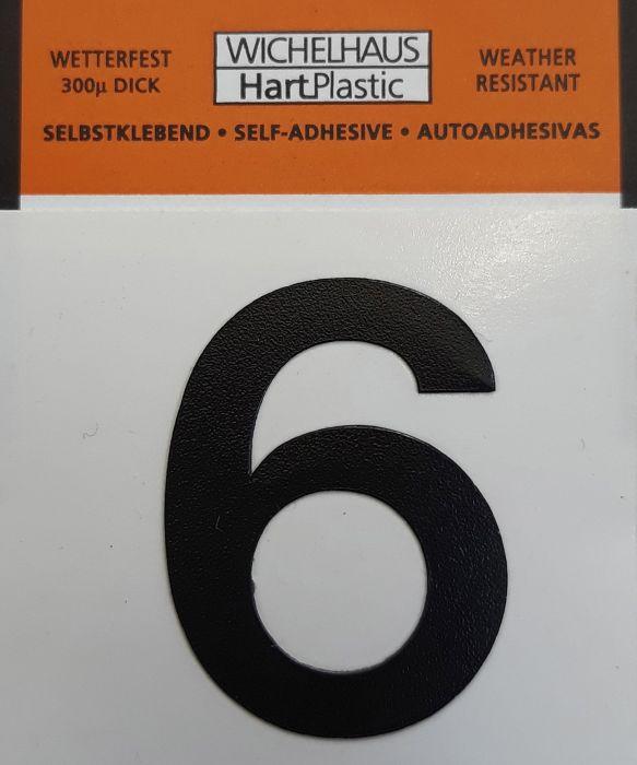 Numero Wichelhaus HartPlastic Musta 30 mm 6
