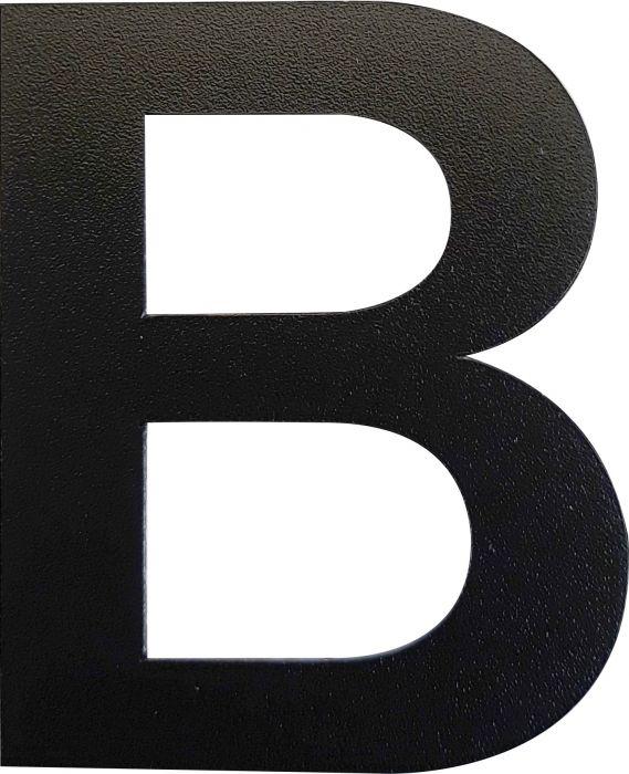 Kirjain Wichelhaus HartPlastic Musta 50 mm B