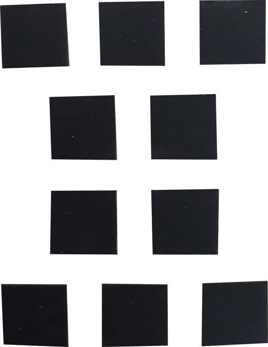Merkki Wichelhaus HartPlastic Musta 50 mm Piste 10 kpl/pkt