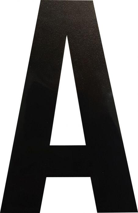 Kirjain Wichelhaus HartPlastic Musta 100 mm A
