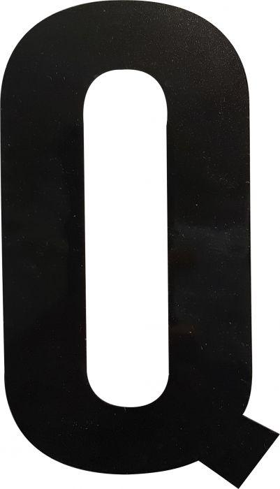 Kirjain Wichelhaus HartPlastic Musta 100 mm Q