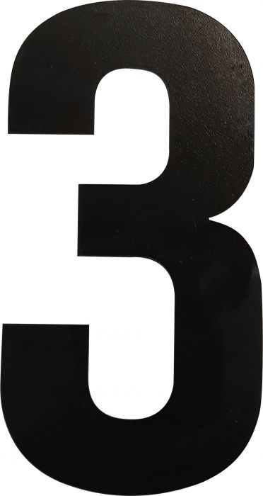 Numero Wichelhaus HartPlastic Musta 100 mm 3
