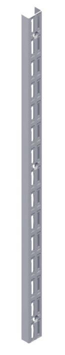 Seinäkisko Element System 2-reikäinen Valkoinen Alumiini 229 cm