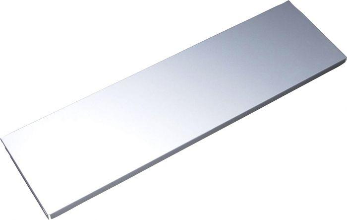 Teräshylly 1 PR Valkoinen alumiini 800 x 250 mm