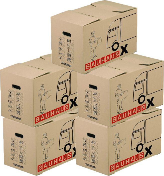Muuttolaatikko Bauhaus X 62,5 x 34,5 x 38 cm