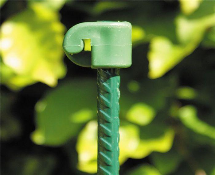 Harjaterästolppa vihreä 8 mm x 110 cm