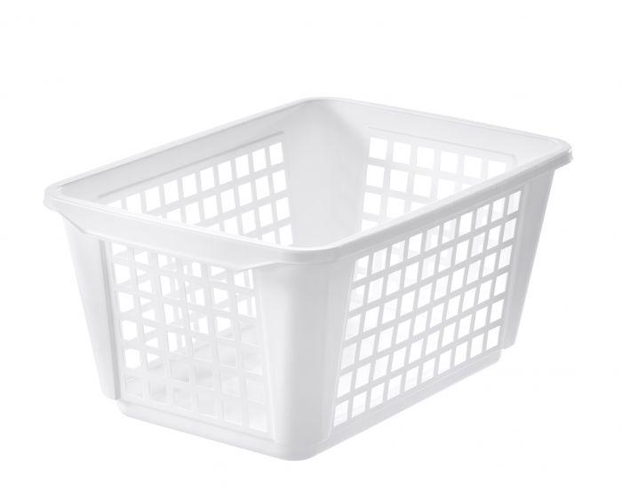 Pyykkikori Orthex 46 L Valkoinen