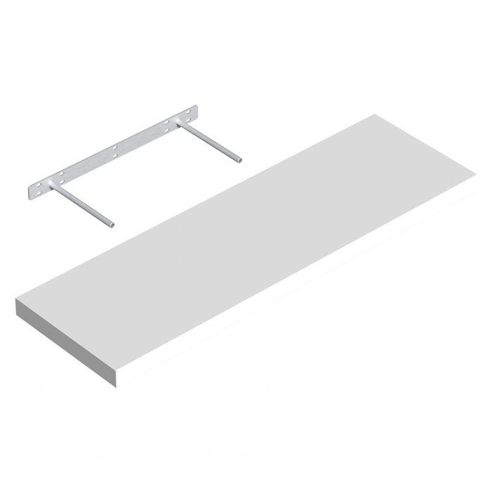 Hylly Regalux XL4 valkoinen 3,8 x 24 x 80 cm