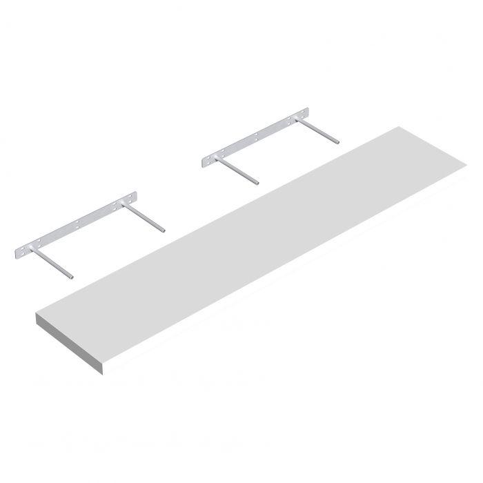Hylly Regalux XL4 valkoinen 3,8 x 23,5 x 118 cm