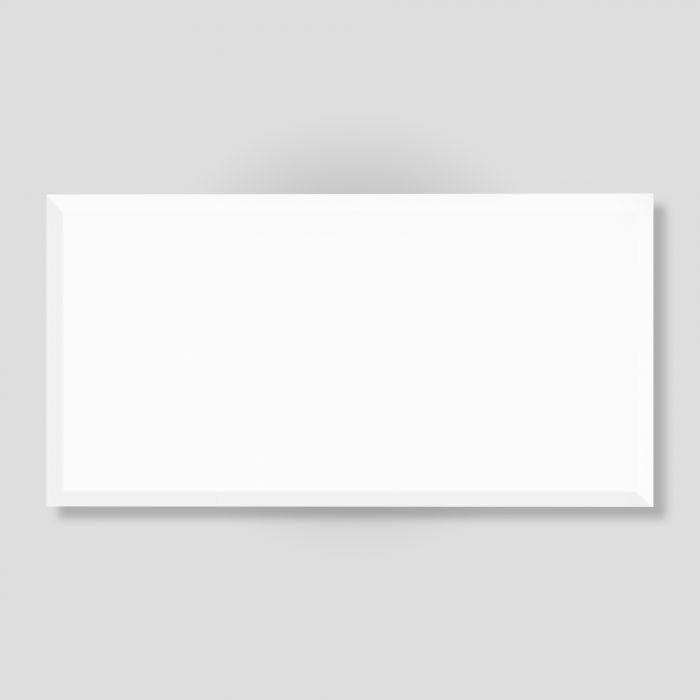 Seinälaatta Metro XXL kiiltävä valkoinen 31 x 60 cm