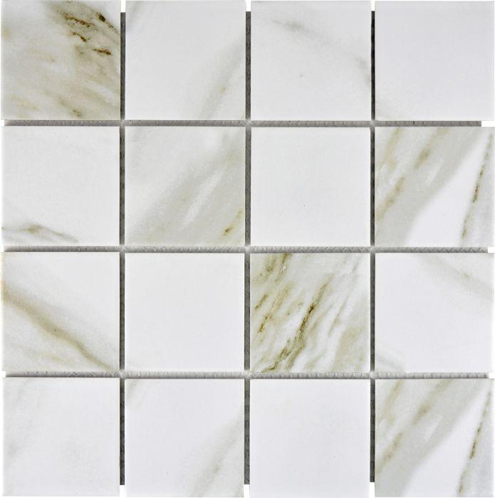Mosaiikki Quadrat Calacatta