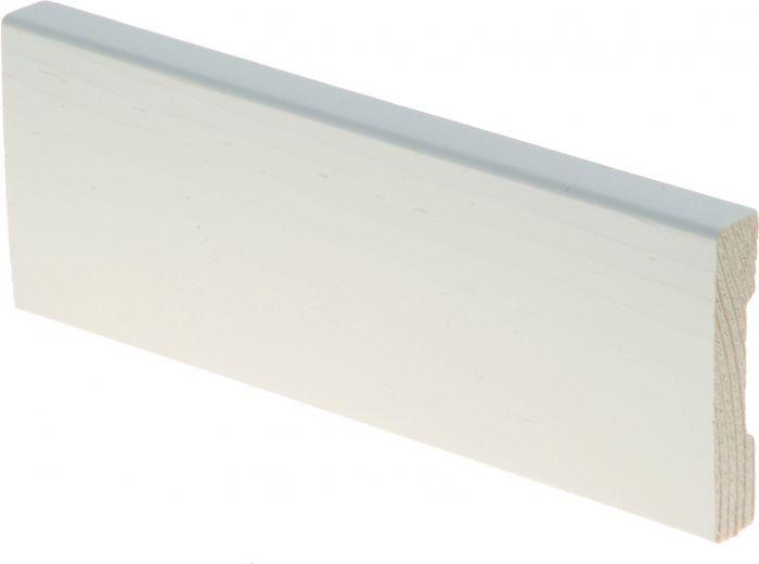 Peitelista 12 x 58 x 2700 mm mänty sormijatkettu valkoinen