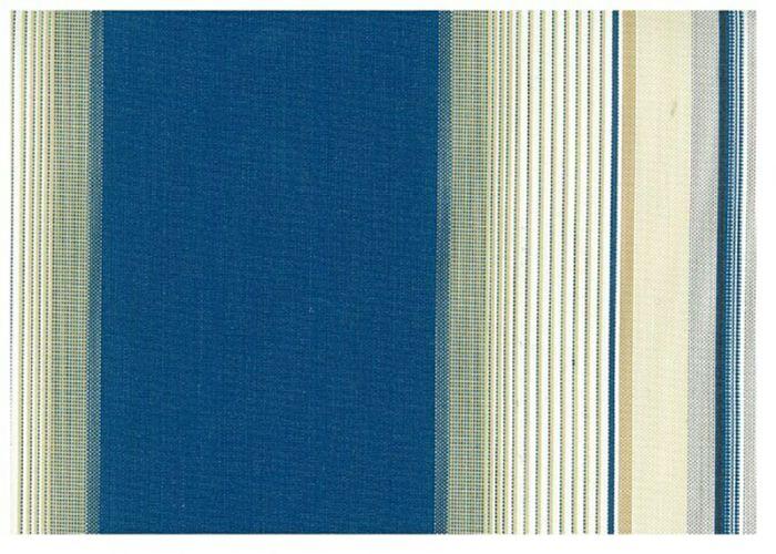 Markiisin vaihtokangas Sunfun Sini-valkoinen 5 x 3 m