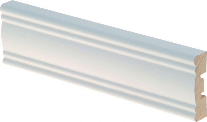 Peitelista Maler Aura 12 x 42 x 2200 mm MDF valkoinen
