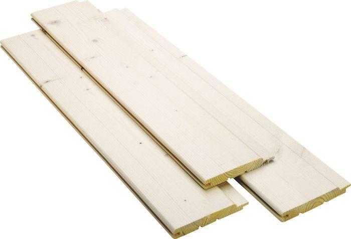 Paneeli Maler STP 14 x 120 mm Valkolakattu