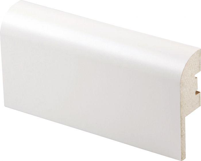 Jalkalista Maler 22 x 70 x 2750 mm MDF Valkoinen