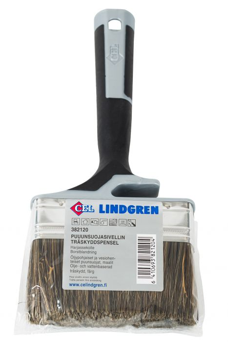 Puunsuojasivellin C.E.Lindgren 120 mm Sekoiteharjas