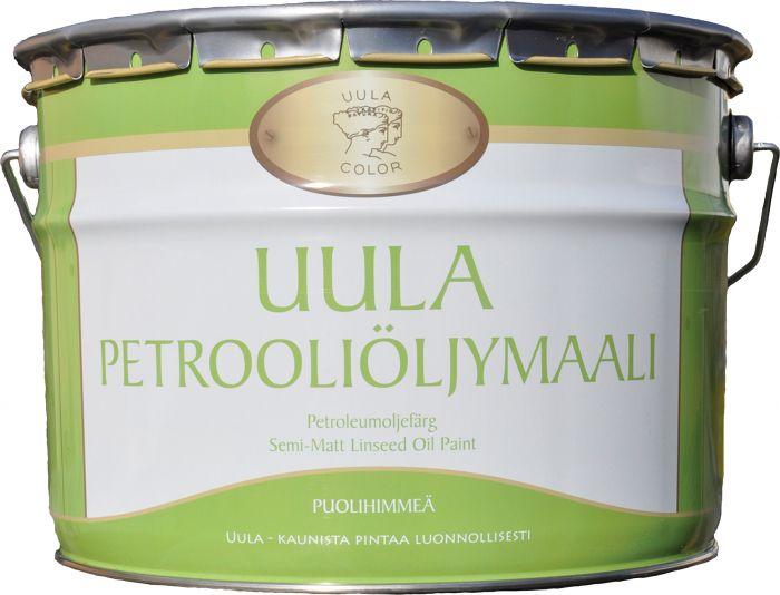 Petrooliöljymaali Uula 9 l Puolihimmeä Valkoinen