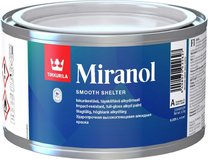 Alkydimaali Tikkurila Miranol Valkoinen