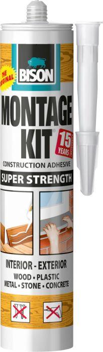 Asennusliima Bison Montage Kit Supervahva 350 ml
