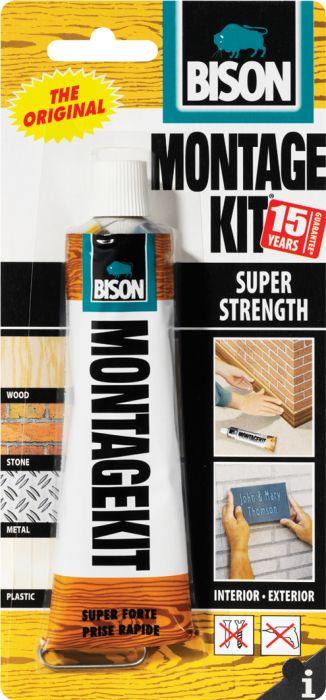 Asennusliima Bison Montage Kit Supervahva 125 g