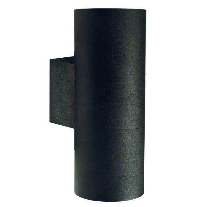 Ulkoseinävalaisin Nordlux Tin Maxi 2-osainen Musta