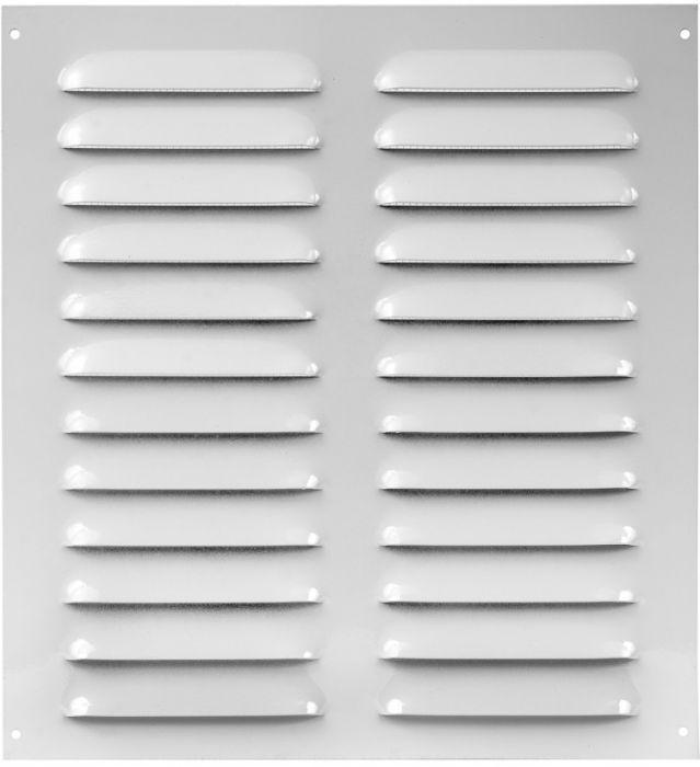 Tuuletusritilä Europlast Valkoinen 260 x 280 mm