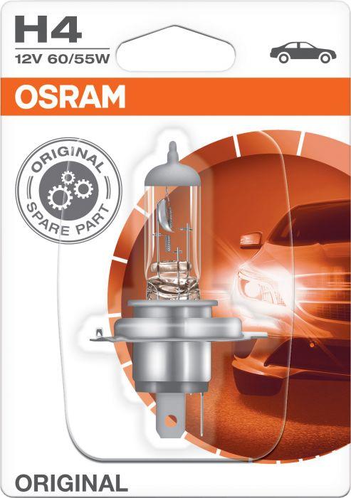 Polttimo Osram Original H4 1 kpl