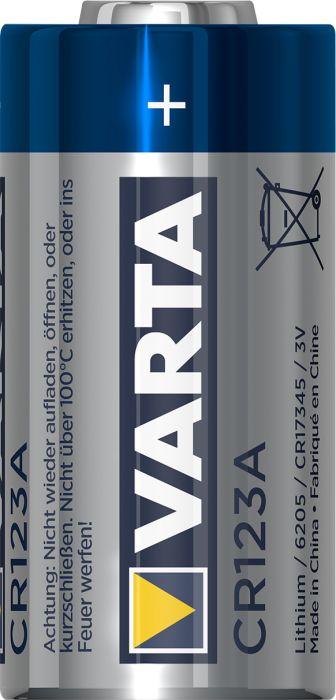 Erikoisparisto Varta Professional Lithium CR123A
