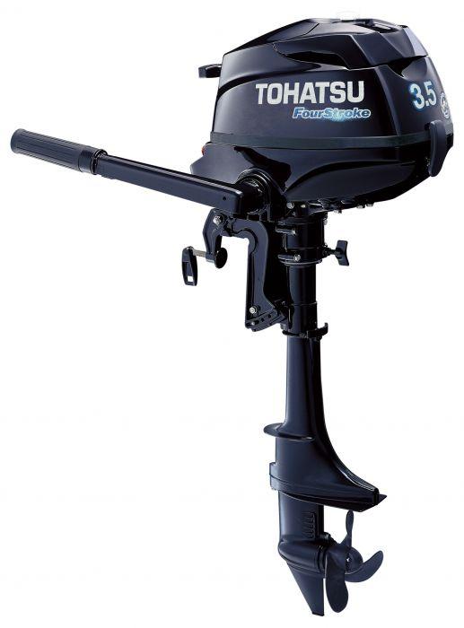 Perämoottori Tohatsu MFS3.5BS