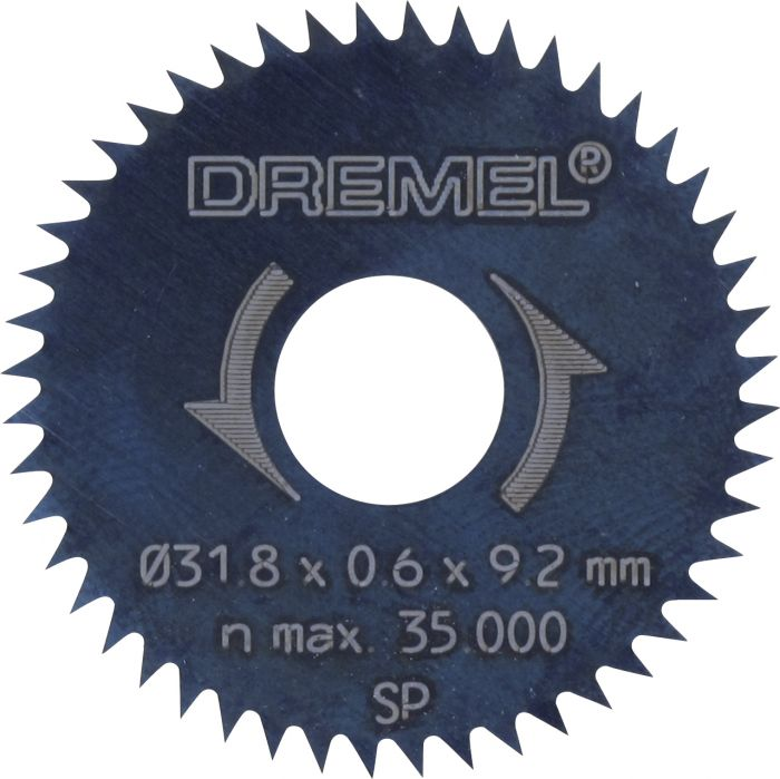 Pyörösahanterä Dremel 32,8 mm (546)