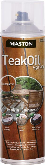 Teak Oil Spray Maston 500 ml
