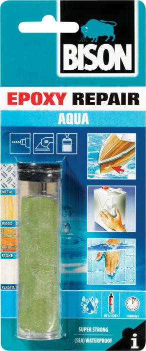 Epoksimassa Bison Epoxy Repair Aqua