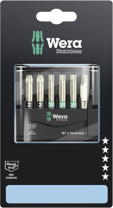 Ruuvauskärkisarja Wera Stainless 1 3855/4