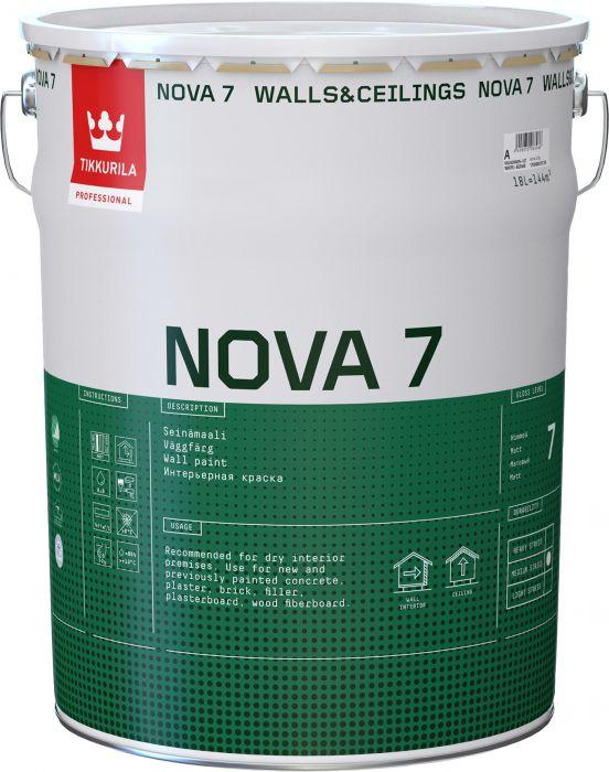 Seinämaali Tikkurila Nova 7
