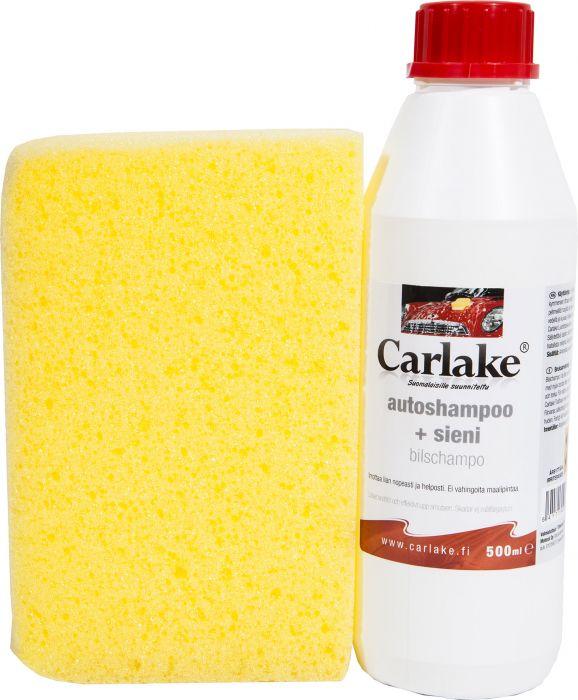 Autoshampoo Carlake + Pesusieni